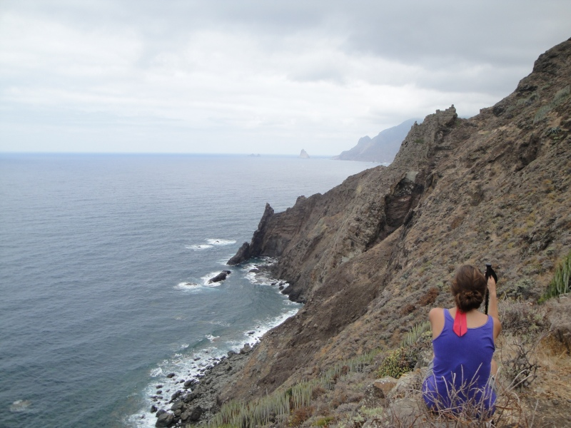 Hiking from Afur to Taganana, Tenerife (Spain)