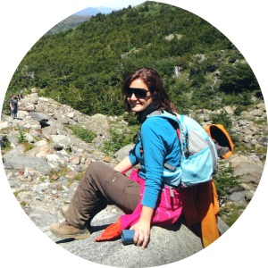 Katharina in Patagonia