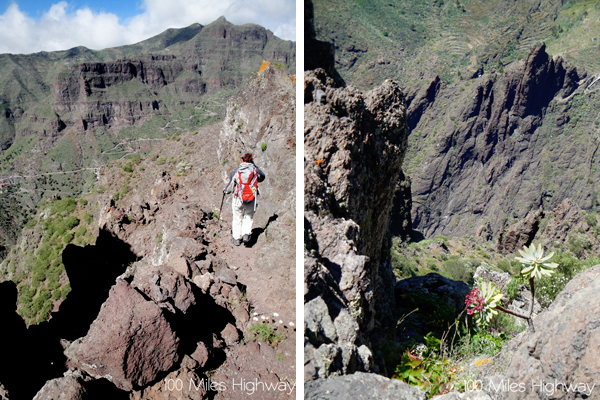 Walking Teno Mountains, Tenerife