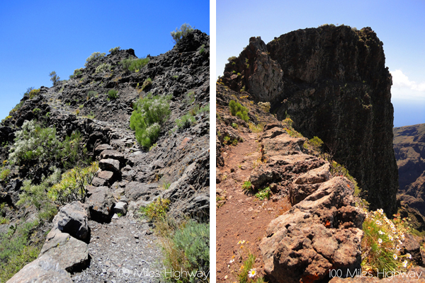 Narrow Paths, Teno Mountains (Tenerife)