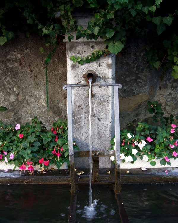 Water Fountain, Lausanne (Switzerland)