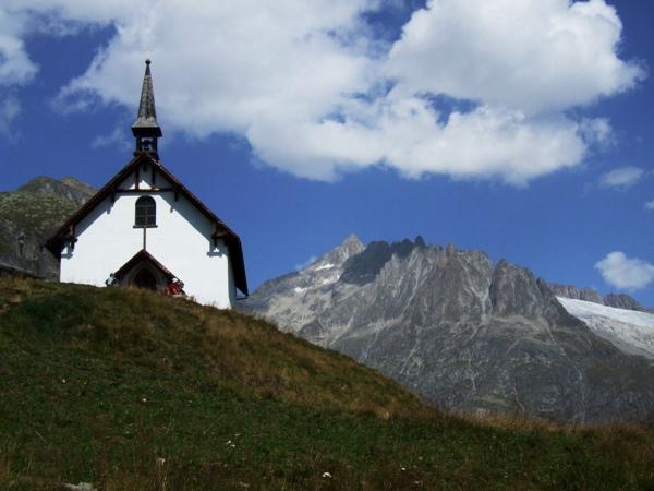 Hiking in Aletsch, Switzerland
