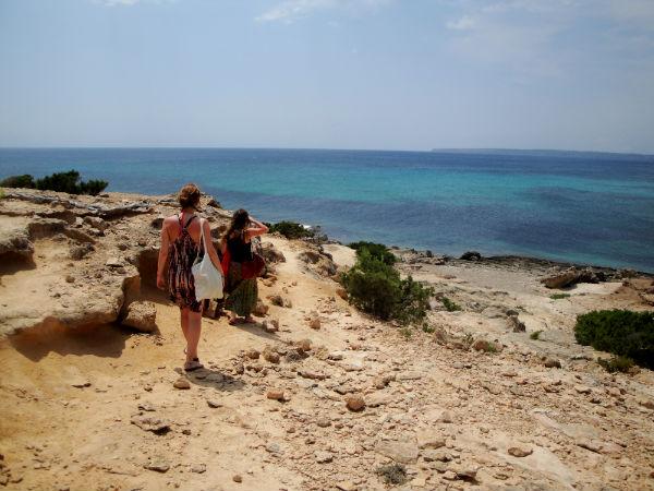 Formentera nude beach