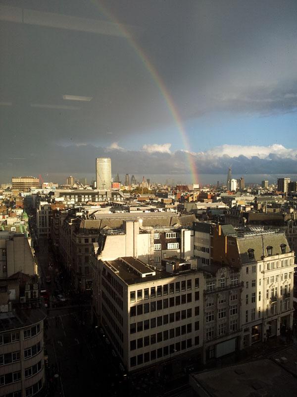 Rainbow after the Rain, London