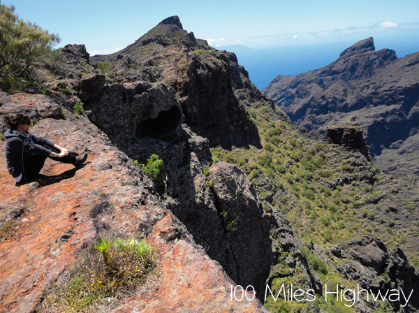 Hiking in Tenerife, Spain
