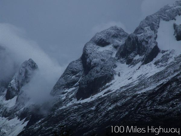 Cloudy Tierra del Fuego, Argentina