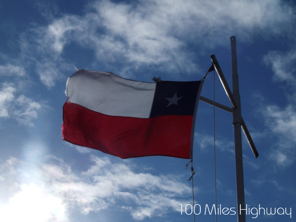 Chilean Flag on Cape Horn, Chile