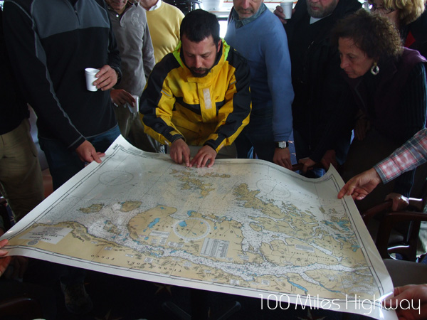 Planning Our Arrival to Cape Horn, Chile