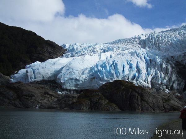 Aguila Glacier, Parque Nacional Alberto de Agostini, Chile