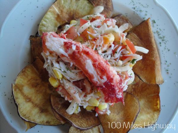 Spider Crab Ceviche, Ushuaia (Argentina)