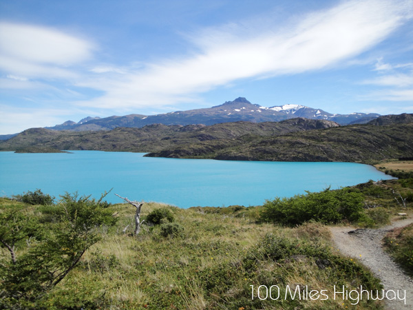 Hiking Valle Frances, Torres del Paine, Chile
