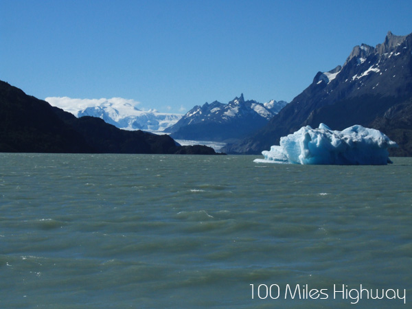 Glaciers in Torres del Paine, Chile