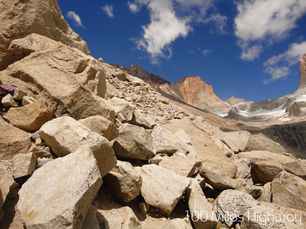 The Final Stage: Rocky Moraine