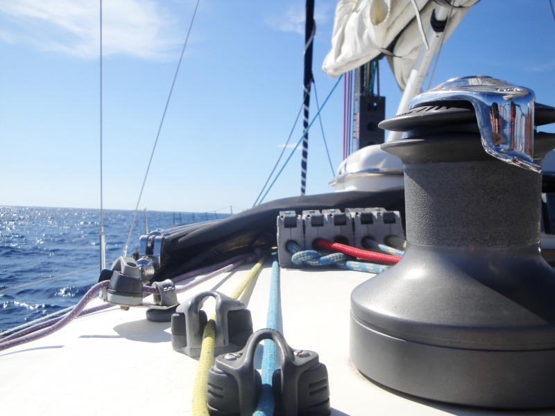 Sailing in the Canary Islands, Spain
