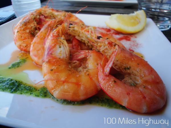 Shrimps, Las Piratas Bistro Bar in Las Galletas, Tenerife