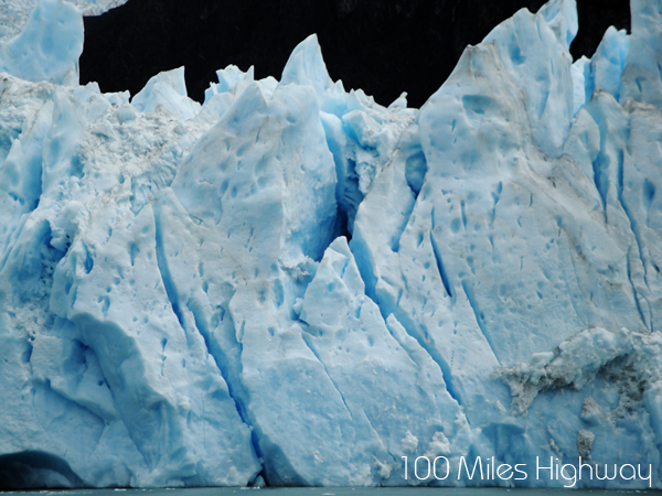 Glaciers in Calafate, Argentina