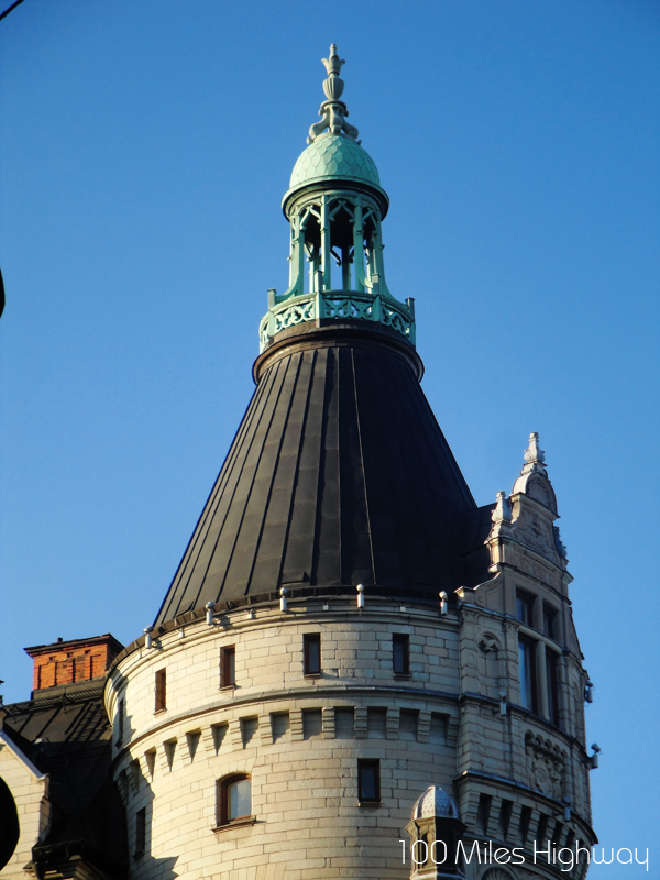 Round Tower in Stockholm, Sweden