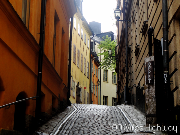 Small Alley in Gamla Stan, Stockholm