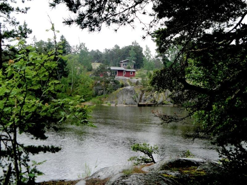 Hiking in Ingmarsö, Sweden