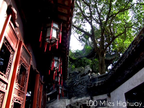 Pavilions in Yu Yuan Garden, Shanghai