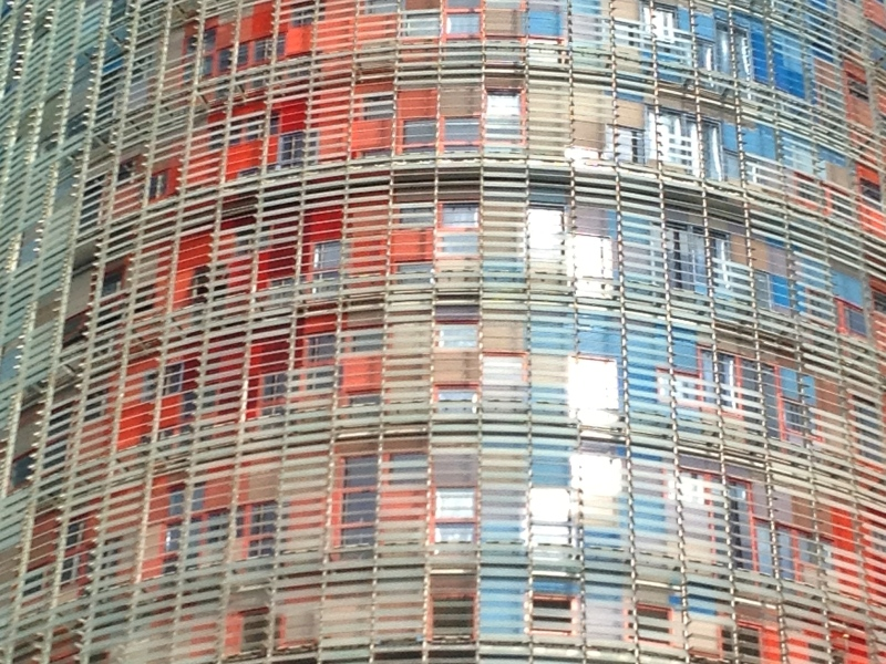 Torre Agbar, Barcelona (Spain)