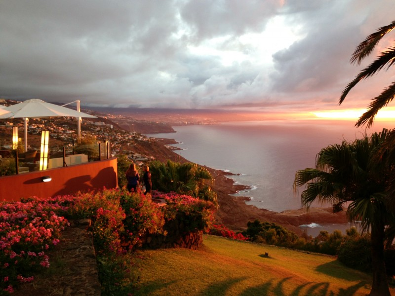 Best Sunset in Tenerife - Las Terrazas del Sauzal (Canary Islands, Spain)