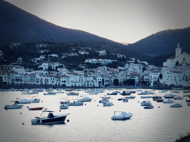 Sunset in Cadaqués, Costa Brava (Spain)