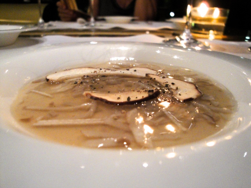 Wild Mushroom Royale at Les Cols in Olot, Spain