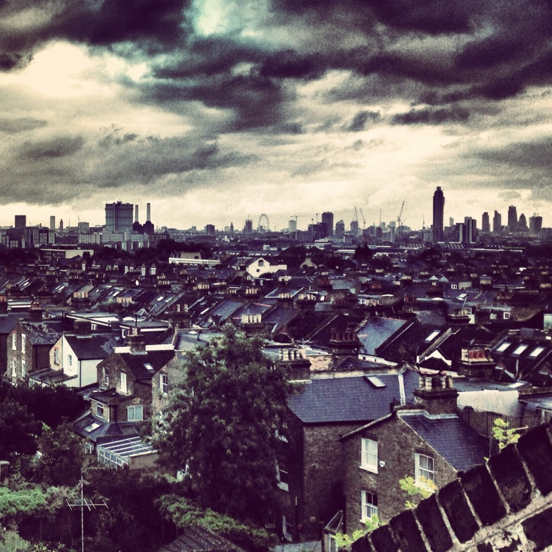 Stormy London (UK)