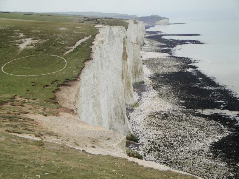 Hiking from Seaford to Eastbourne, UK