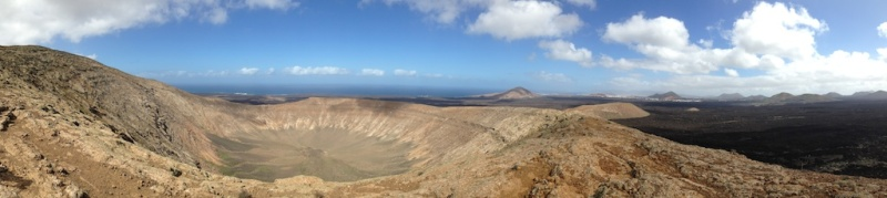 Caldera Blanca, Lanzarote (Canary Islands, Spain)