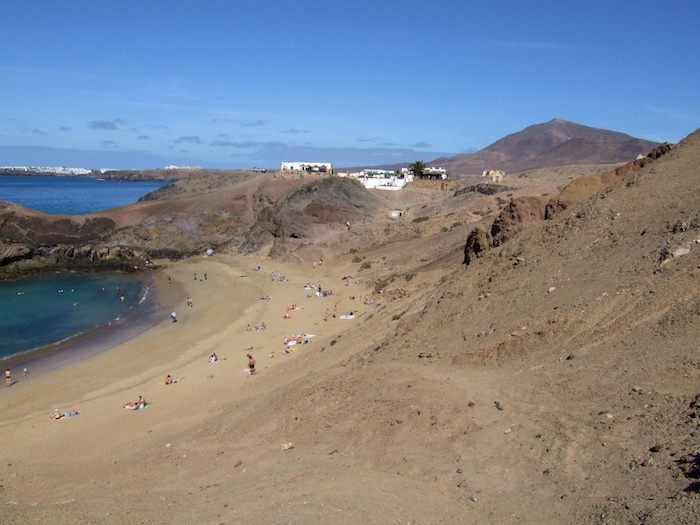 Playa Papagayo, Lanzarote, Canary Islands (Spain)