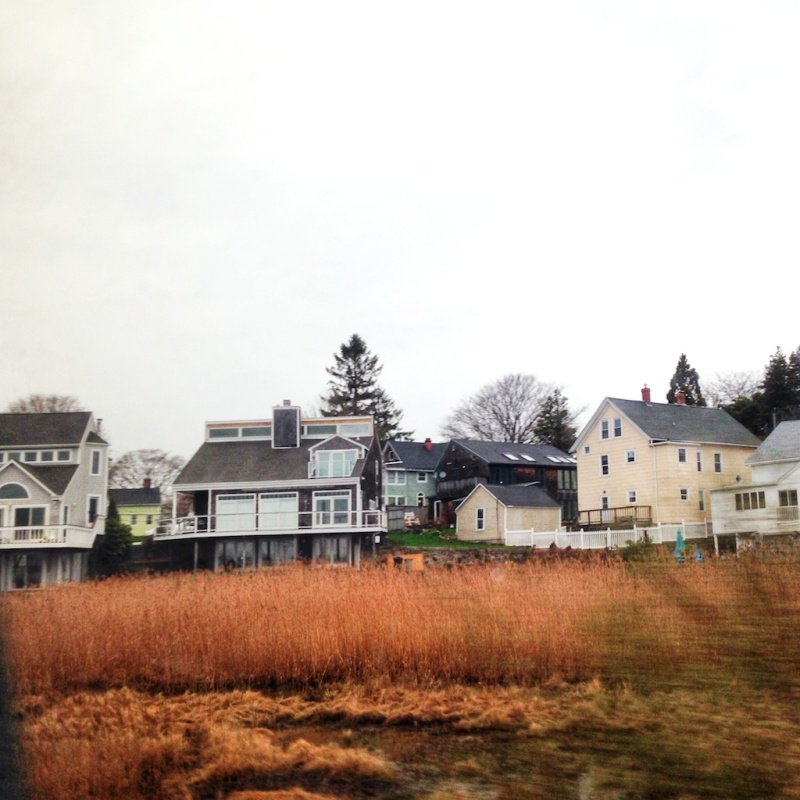 Always take the scenic route - from Boston to New York by train