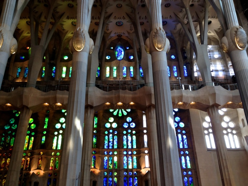Sagrada Familia, Barcelona (Spain)