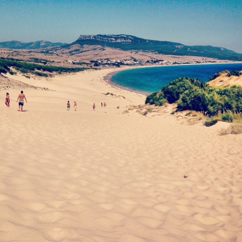 Sand dunes, Tarifa (Spain)