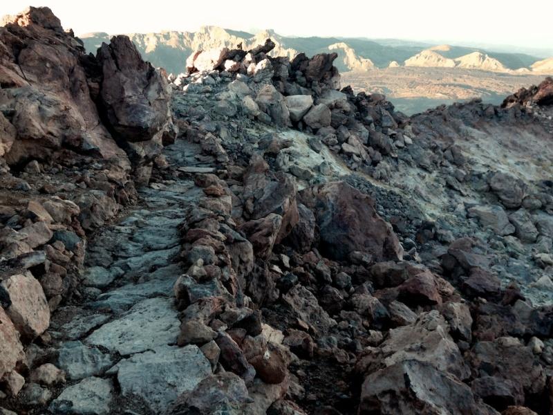 Hiking Montaña Blanca - Teide (Tenerife, Spain)