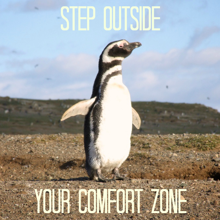 Step outside your comfort zone (Kate goes Global)