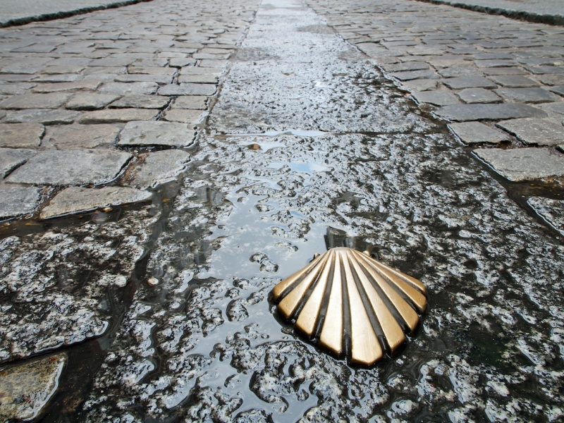 Symbol of the Camino de Santiago