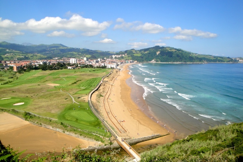 Zarautz, Basque Country (Spain)
