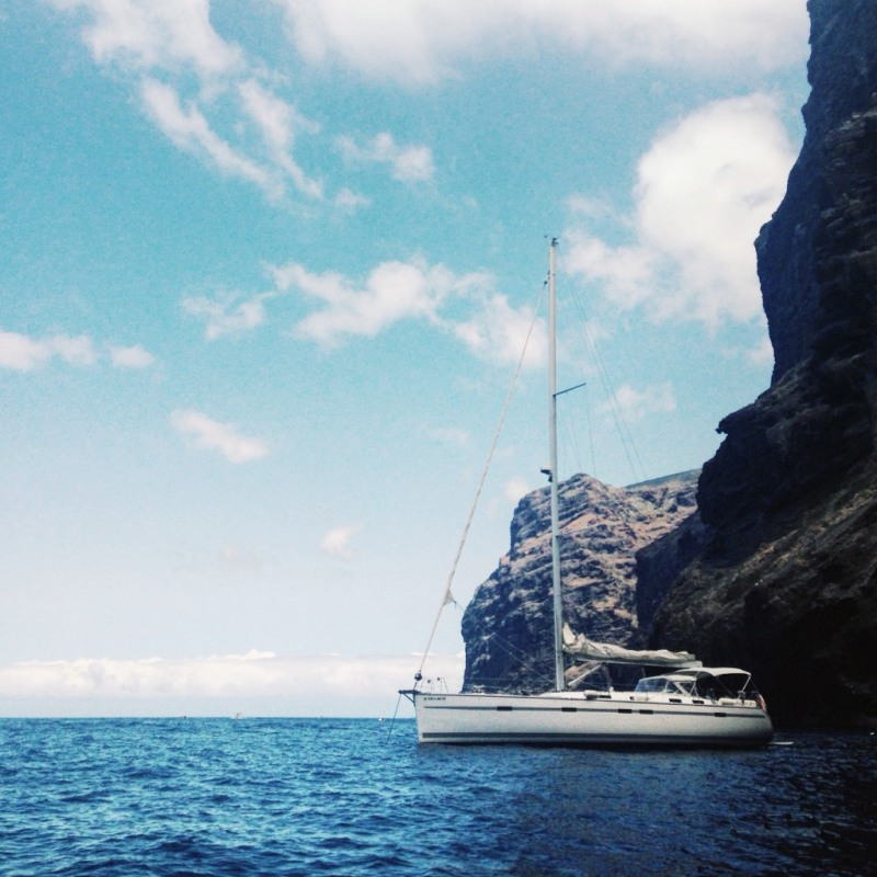 Boat trip in Tenerife, Canary Islands