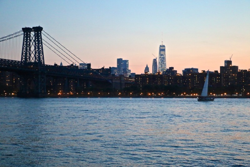 NYC Sunset from Grand Ferry Park