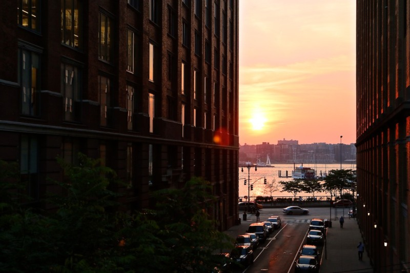 NYC Sunset from the Highline