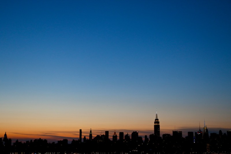 NYC Sunset from Wythe Hotel