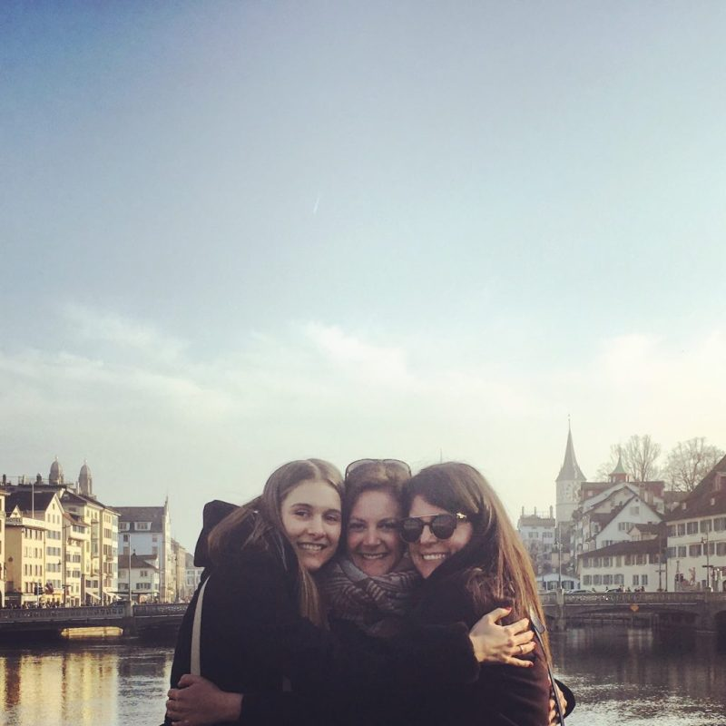 Zurich with friends